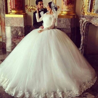 Robe de mariage 2021 | robe de mariage longue élégante_2
