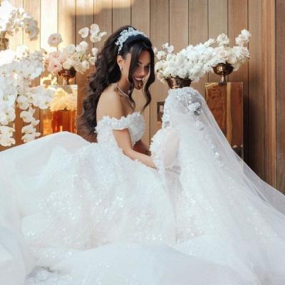 robe de mariée de princesse de luxe | robe de haut de gamme_5