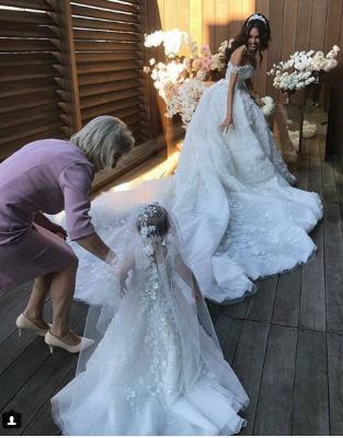 robe de mariée de princesse de luxe | robe de haut de gamme_1