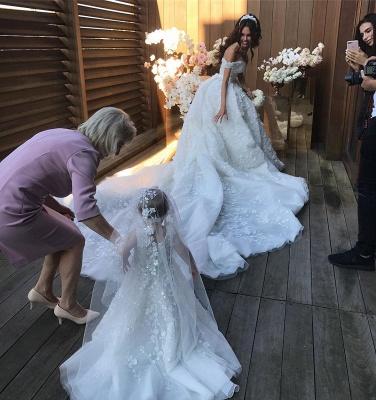 robe de mariée de princesse de luxe | robe de haut de gamme_6
