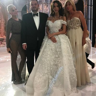 robe de mariée de princesse de luxe | robe de haut de gamme_4