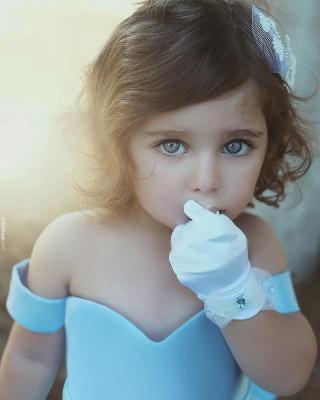 Forme Princesse Longueur ras du sol Epaules nues Satin Robe de soirée Pas cher_3