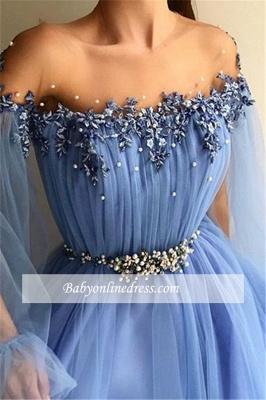 Robe de bal princesse manches bouffantes | Robe de soirée princesse tulle chic_1
