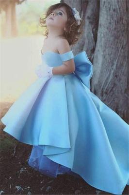 Forme Princesse Longueur ras du sol Epaules nues Satin Robe de soirée Pas cher