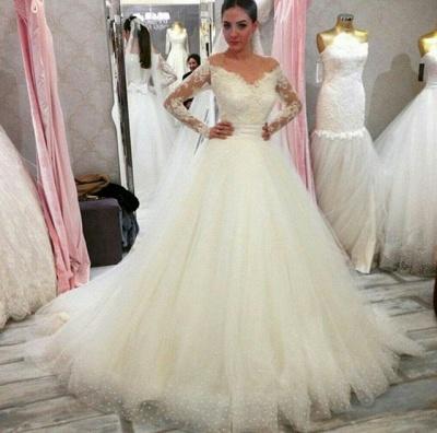 robe de mariée 2021 | robe de mariée princesse avec traine_2