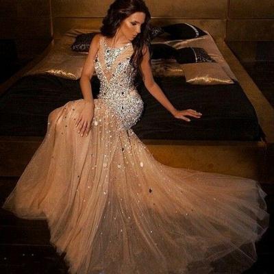 robe de soirée en cristal | robe de cocktail pas cher_2