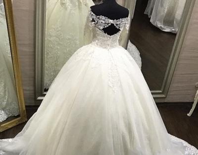 robe de mariée dentelle | robe de mariage princesse femme_3