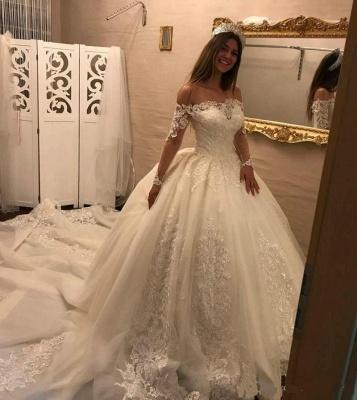 robe de mariée dentelle | robe de mariage princesse femme_2