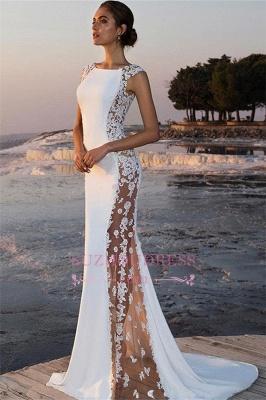 Robe de soirée sirène sexy avec dentelle | Robe de cérémonie trompette chic_1