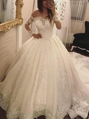 robe de mariée dentelle | robe de mariage princesse femme_1