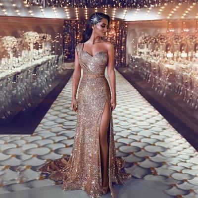 Robe de soirée longue pailletée brillante | robe de soirée cérémonie chic_3
