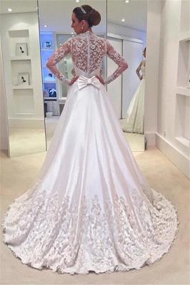 Forme Princesse alayage/Pinceau train Robes de mariée 2021 avec Appliques_2