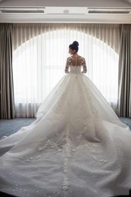 Robe de mariée sirène traîne détachable | Robe de mariage trompette dentelle élégante_6