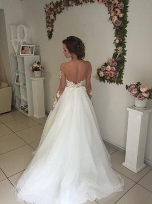 Robe de mariée princesse tulle chic avec dentelle | Robe de mariage princesse épaules nues_4