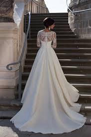 Robe de mariée dentelle | Robe de mariage élégante manches longues_2