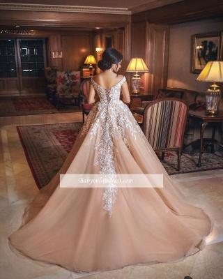 robe de mariée princesse | robe de cérémonie dentelle_3