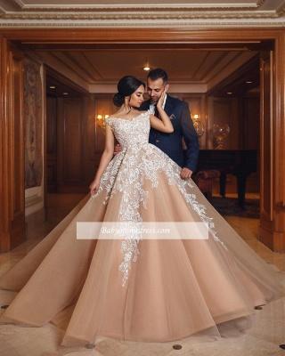 robe de mariée princesse | robe de cérémonie dentelle_1