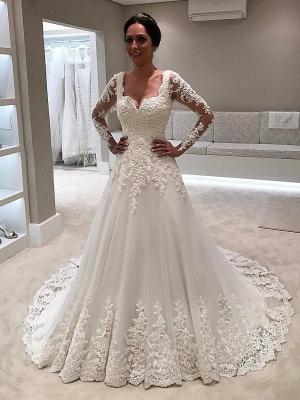 robe de mariage 2021 | robe de mariage longue élégante_1