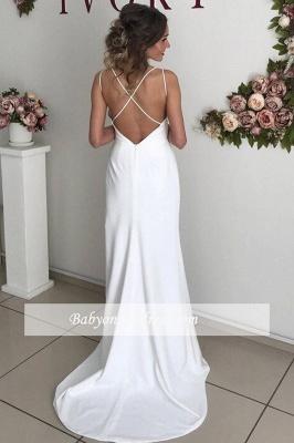 robe de soirée longue dos nu fendue avec bretelles_1