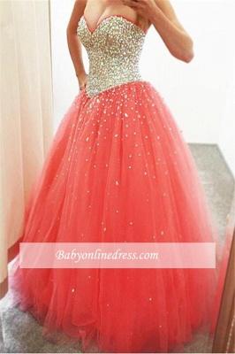 Robe de bal princesse tulle sublime | Robe de soirée princesse avec perles_2