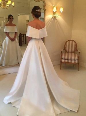 robe de mariée élégante | robe de mariage à traîne_1