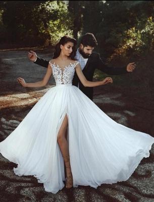 robe de mariée 2021   robe de mariée élégante MM0199_1