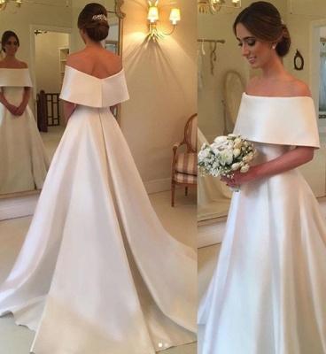 robe de mariée élégante | robe de mariage à traîne_2