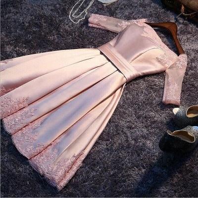 Robe de soirée princesse courte épaules nues | Robe de cocktail princesse mini dentelle chic_2