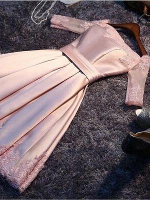 Robe de soirée princesse courte épaules nues | Robe de cocktail princesse mini dentelle chic_1