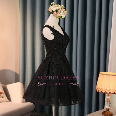 robe de soirée courte dentelle | robe de cocktail chic_1