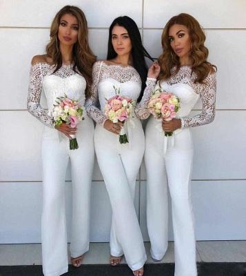 tenue habillé pour mariage | combinaison de demoiselle d'honneur_2