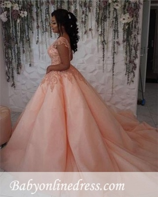 Forme Marquise Traîne mi-longue Col U profond Tulle Robes de mariée/gala avec Dentelle_6