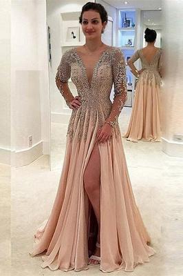 robe de soirée longue pas cher | robe de cérémonie pour mariage MM0215_1