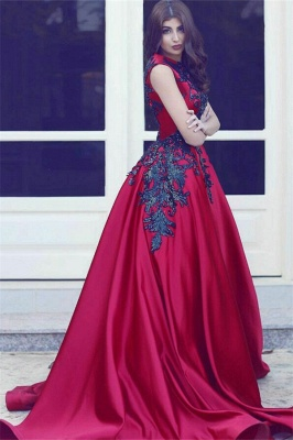 Robe de bal princesse avec appliques | Robe de soirée princesse sublime sans manches_2