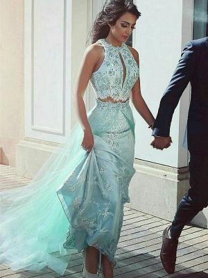 Forme princess robe de cérémonie deux pièces en dentelle délicat satin qualité longueur sol_1