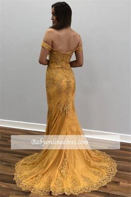 Robe de soirée longue pas cher   robe de soirée sirène dentelle_1