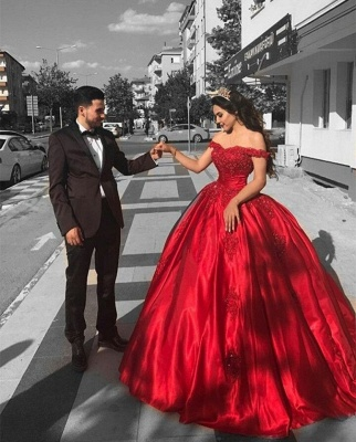 robe de cérémonie princesse | robe de soirée femme princesse MM0257_2