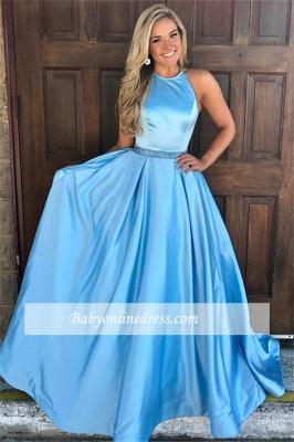 Robe de bal princesse moderne | Robe de soirée princesse à col halter_3
