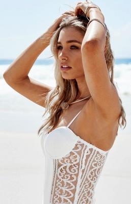Robe d'été robe plage bretelle fine dentelle délicat fendu devant longueur sol couleurs au choix_3