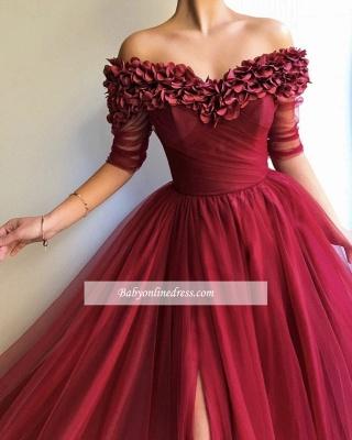 Robe de bal princesse tulle chic | Robe de soirée princesse épaules nues_1