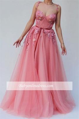 Robe de bal princesse florales chic | Robe de soirée princesse bretelles fines_2