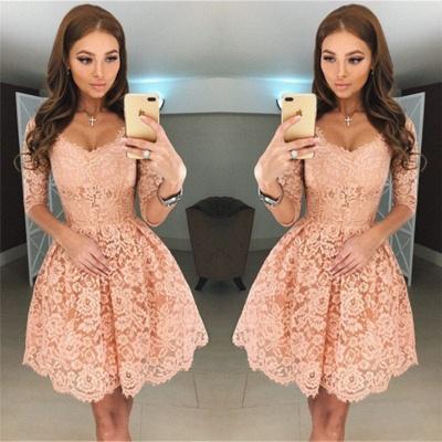 robe de soirée courte | robe dentelle pas cher_2