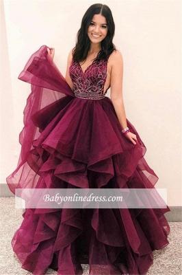 Robe de bal princesse tulle chic | Robe de soirée princesse délicate_3