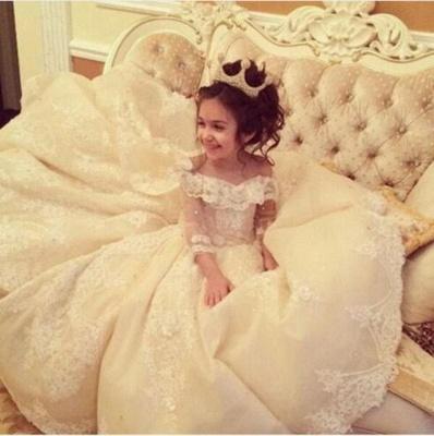 robe de fillette | robe de fille pour mariage_3