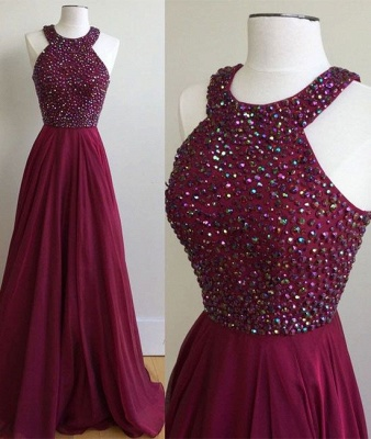 Forme Princesse alayage/Pinceau train Dos nu Robes de bal 2021 avec Cristal_2