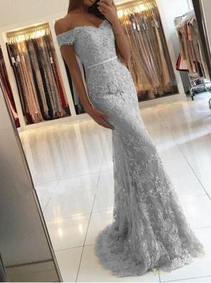 robe de soirée longue | robe de cérémonie dentelle_4