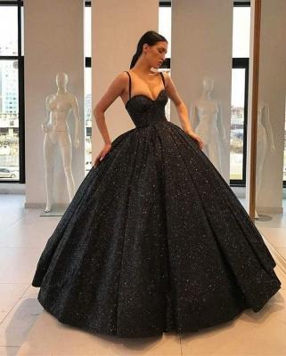 Robe de Soirée Cérémonie Princesse | Robe de Soirée Robe de Gala longue chic Noir_2