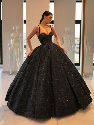 Robe de Soirée Cérémonie Princesse | Robe de Soirée Robe de Gala longue chic Noir_1