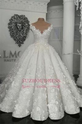 Robes de mariée de luxe en cristal 2020 | Robes de mariée en tulle transparent avec perles BC0708