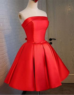 Forme princesse robe de cérémonie robe courte haute qualité couleurs au choix_3
